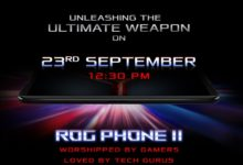 Asus Rog Phone 2 India launch date