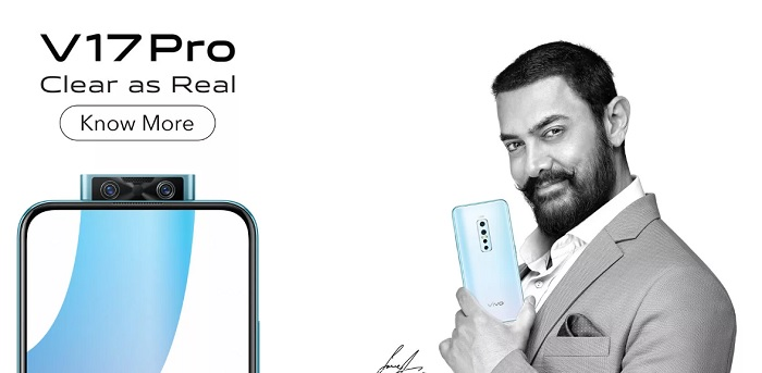 Vivo V17 Pro full phone specs price in India