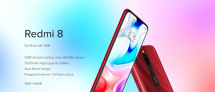 Redmi 8 full phone specifications and price in India
