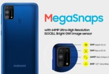 Samsung Galaxy M31 Price India Specifications details