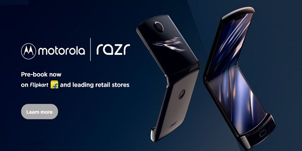 Motorola Razr Foldable Smartphone Launched in India Price & Specifications