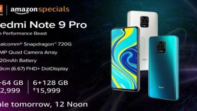 Redmi Note 9 Pro Sale in India Today Price in India Specifications
