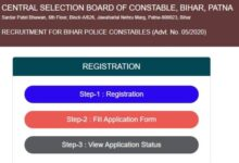 Bihar Police Constable Recruitment 2020 Few Days Left To Apply Online For 8415 Posts