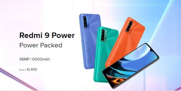 Redmi 9 Power New Variant in India price in India and specifications