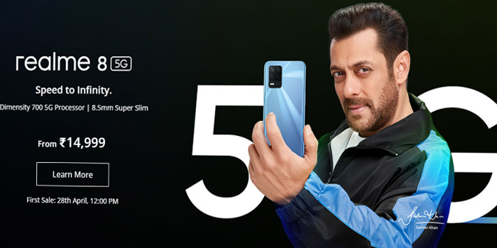 Realme 8 5G smartphone, cheapest 5G phone in India